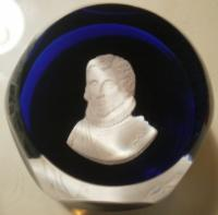 1967 Christopher Columbus Sulphide Paperweight