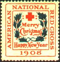 1908 type 2 US Christmas Seal