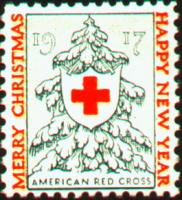 1917 US Christmas Seal