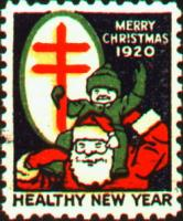 1920 US Christmas Seal