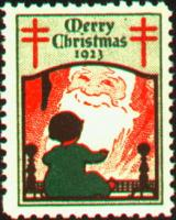 1923 US Christmas Seal