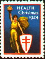 1924 US Christmas Seal