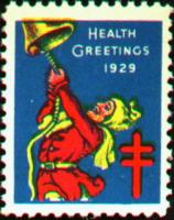 1929 US Christmas Seal