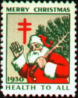 1930 US Christmas Seal