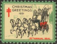 1931 US Christmas Seal