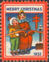 1932 US Christmas Seal