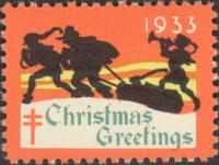 1933 US Christmas Seal