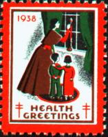 1938 US Christmas Seal