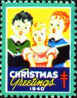 1940 US Christmas Seal