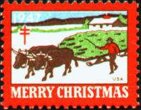 1947 US Christmas Seal