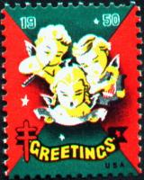 1950 US Christmas Seal