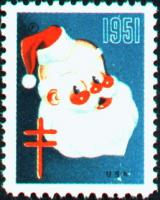 1951 US Christmas Seal