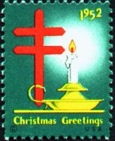 1952 US Christmas Seal