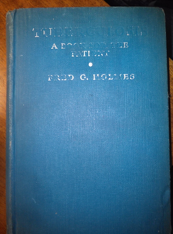 1935 TB Book by Holmes, Director of NTA